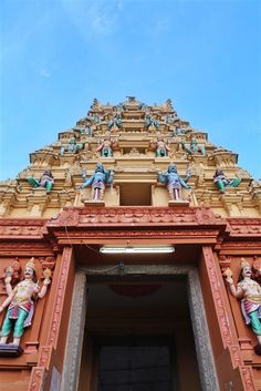 Travel in India - a beautiful temple in Andhra Pradesh, South India India Travel Guide, Asia Travel, Travel Tips, Travel Destinations, Temple India, Visit India, Beautiful Places To Travel, South India, Travel Information