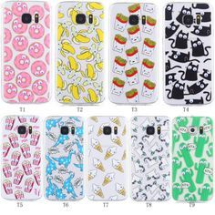 3D Cartoon Moving Eyes Soft Silicone case cover for Samsung Galaxy S7 / S7edge