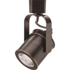 Lithonia Lighting Spotlight 1-Light Oil Rubbed Bronze Integrated LED Track Lighting Head-LTIHSPLT LED 27K ORB M4 - The Home Depot
