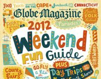The Boston Globe by Linzie Hunter, via Behance