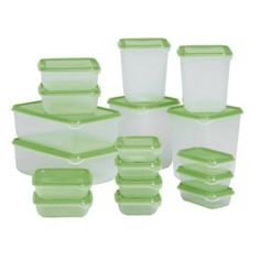 IKEA PRUTA Plastic Container / Food Storage Containers 17 Piece Set Ikea http://www.amazon.co.uk/dp/B007POZ1O4/ref=cm_sw_r_pi_dp_H77lwb0G56BXH