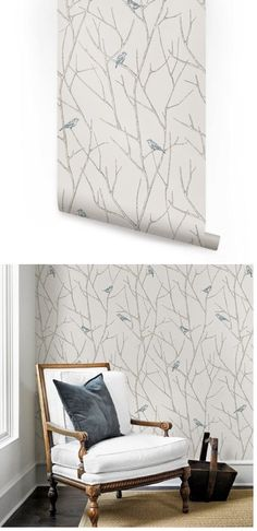 Birch tree peel and stick wallpaper wall sticker outlet for Wallpaper outlet