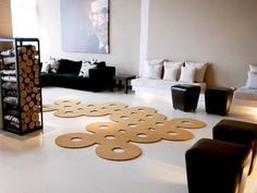 Tappeto a tinta unita in poliammide SILHOUETTE 12 by OBJECT CARPET GmbH