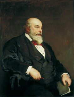 Sir Horace Jones (1819 – 1887) often portrayed with his writing book.......