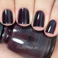 China Glaze What Are You A-Freight Of? | Fall 2014 All Aboard Collection | Peachy Polish
