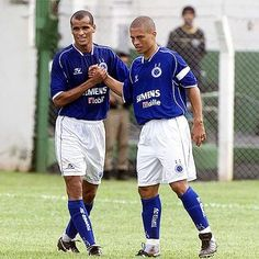 Rivaldo e Alex 2004