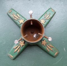 An Antique Cast Iron Christmas Tree Stand from Germany