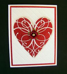 Memory Box La Rue Heart - Ann Greenspan's Crafts