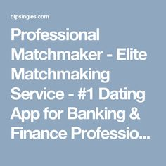 elite online dating agency for professionals