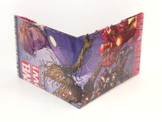 Comic Book Wallet// Marvel Now// Guardians of the Galaxy// Star-Lord, Groot, Rocket Racoon, and Iron Man, $4.00