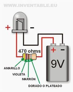 Leds a 9V por ejemplos - Taringa!