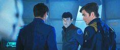 Karl Urban as Bones, in Star Trek Beyond.
