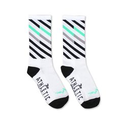 """Know those crazy winter camouflage patterns that are based on arctic rabbit  pelts? Well, these have nothing to do with that, but they do have that sort  of Arctic Fox (the video game, not the animal) feel. Right? An update to  our Original Ekiden Socks these new ones are offered in two glorious  colors.  Made in the USA. Synthetic 6"""" sock.  Domestic Shipping 7-10 Days - International Shipping DHL - 2-3 Business  Days. For more information check out our Shipping Policies.  Small» Women…"""