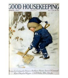 Good Housekeeping magazine cover, March 1921 Buy Good Housekeeping covers