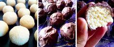 Bounty guličky len z 3 ingrediencií Lens, Ice Cream, Homemade, Desserts, Food, Cakes, No Churn Ice Cream, Tailgate Desserts, Deserts