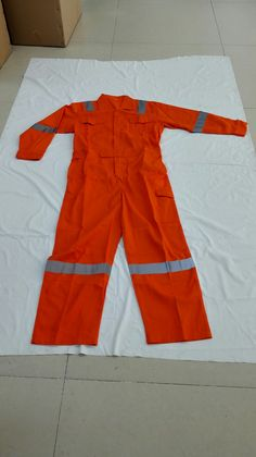 high vis cotton orange working coverall with reflective tapes, durable, water repellent.  info3@hollee.net. whatsapp/wechat +86 18731122655