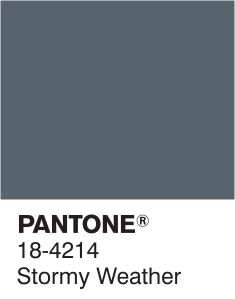 "Hi ladies! It's been a while since we did grey, so I thought we'd do a ""one colour wonder"" day with this Pantone. It's a specific shade of mid-grey, almost with some air force blue in it - would you agree? Let's go for perfect matches, quality over quantity, and find some newbies <3"