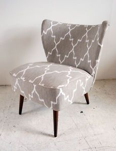 Great fabric to redo retro 50s cocktail chairs