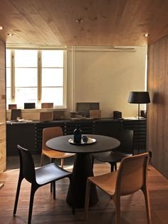 Showroom for in Oslo Oslo, Interior Design Inspiration, Showroom, Conference Room, Box, Table, Projects, Furniture, Home Decor