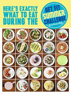 25 Healthy Recipes For BuzzFeed's Get-Fit Summer Challenge