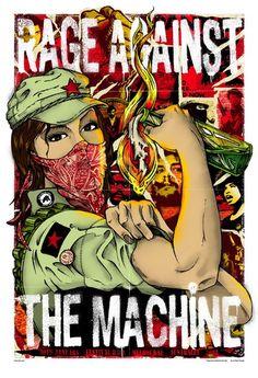 Work Versus Weekend Wardrobe  / Rage Against the Machine  Festival Hall- Melbourne, Australia- Jan 30, 2008 - Artist Rhys Cooper
