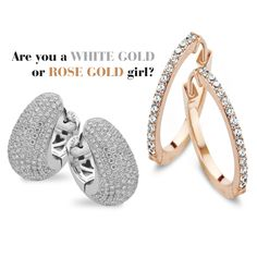 Are you a white gold or rose gold girl?