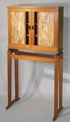 Krenovian Cabinet-on-Stand - Reader's Gallery - Fine Woodworking