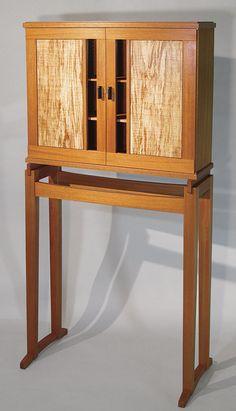 Krenovian Cabinet-on-Stand - Reader's Gallery - Fine Woodworking