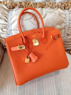 Sacs de Cr¨¦ateur - Hermes Bougainvillea Ostrich Leather 35cm ...