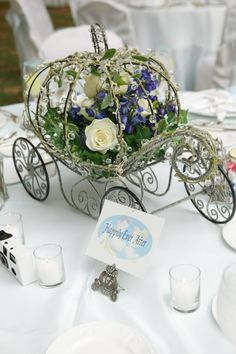 disney Wedding Reception | ... Magical Day Weddings | A Wedding Atlas Fan Site for Disney Weddings - don't want a Disney theme but the carriage is cute