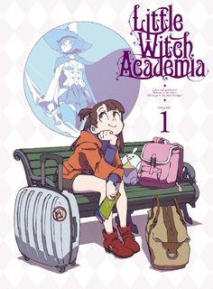 """moetron   pKjd no Twitter: """"Little Witch Academia TV BD/DVD Vol.1 package design; on sale April 19th: https://t.co/eGbQCdHpE6… """" ."""