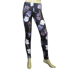 New Cute Rats Printed Leggings Insanity. I wish I liked leggings, because I would totally get these.
