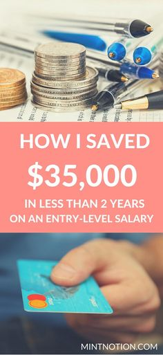 Are you looking to save money to travel the world, pay for a wedding, or to attend University? Find out how I got serious about saving money at my first post-graduate job and managed to save up $35,000 in less than 2 years on an entry-level salary.