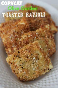 Copycat Olive Garden Toasted Ravioli