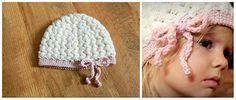 Interesting stitch hat - crochet free pattern