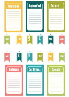 DIGITAL SCRAP : Etiquettes à imprimer !