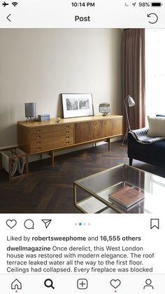 London House, West London, Terrace, Floors, Restoration, Cabinet, Elegant, Storage, Modern