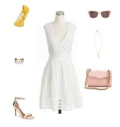 White Lace Dresses | How She'd Wear It with Style and Cheek