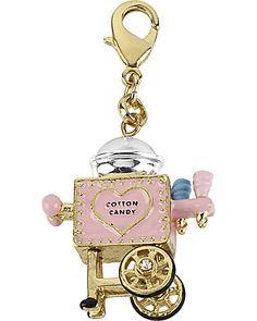 BJ cotton candy machine keychain