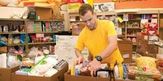 Profiles: Kevin Kropp    Kropp, a UW Oshkosh senior, is part of the team that volunteers for the Oshkosh Area Community Pantry's home delivery program.