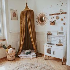 Home Decoration Living Room Baby Bedroom, Nursery Room, Girls Bedroom, Boho Nursery, Playroom Decor, Baby Room Decor, Ideas Habitaciones, Big Girl Rooms, Kid Spaces