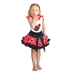 Minnie Costume Minnie Dress up Tutu Dress