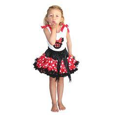 Minnie Costume Minnie Dress up Tutu Dress