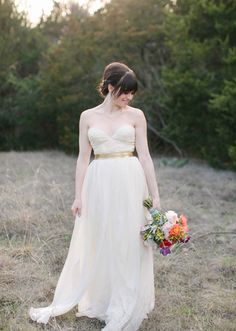 Sarah Seven bridal shoot | photo by Heather Hawkins | 100 Layer Cake