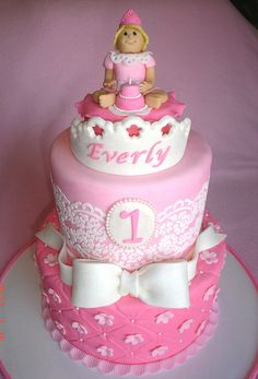 #Cute #Princess #Pink #Birthday #Cake - We love and had to share! Great #CakeDecorating