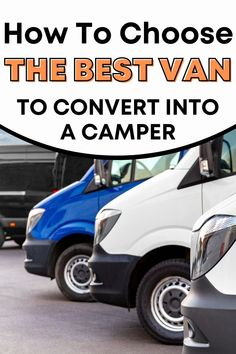 Are you looking at starting a self build camper van but not sure where to start? This guide takes you right to the very beginning - choosing the van you want to convert! Knowing which van to start with will make your DIY camper conversion SO MUCH easier! Van Conversion Floor Plans, Camper Conversion, Build A Camper Van, Diy Camper, Best Campervan, Rv Floor Plans, Stealth Camping, Class B Rv, Rv Mods