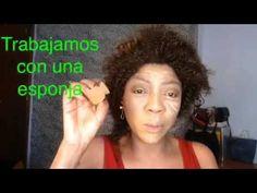 Maquillaje sencillo para pieles negras - YouTube