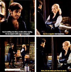 """Emma and Hook - 4 * 22 """"Operation Mongoose"""" CaptainSwan"""