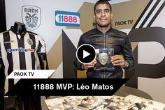 Ο Λέο Μάτος βρέθηκε στο PAOK FC Official Store της Τούμπας όπου παρέλαβε το βραβείο του 11888 MVP για τον Δεκέμβριο και παράλληλα υπέγραψε το Toumba Magazine στους φίλους του ΠΑΟΚ. Fictional Characters, Fantasy Characters