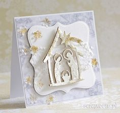 Zimowe okienko Christmas Time, Christmas Crafts, Merry Christmas, Holi, Cardmaking, Nativity, Diy And Crafts, Frame, Scrapbooking